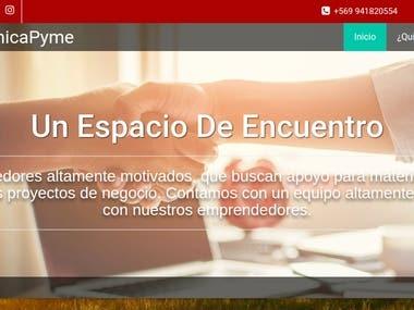 ClinicaPyme Website