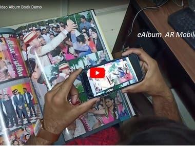 eAlbum AR Mobile App