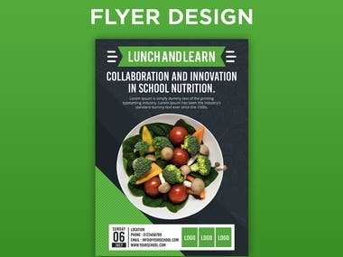 Lunch and learn 2nd flyer design