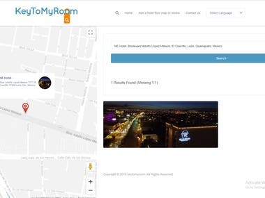 Google Map API (https://dev.keytomyroom.com)