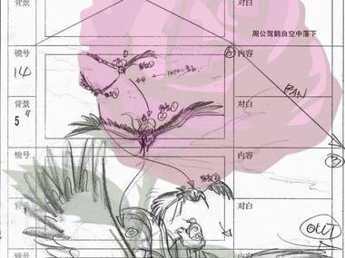 2D Storyboard