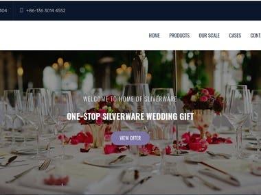 Woo-Commerce Based Website