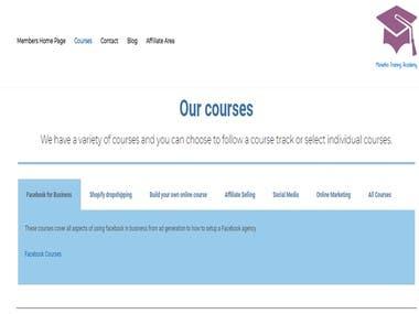Monetha Store - Adding Courses / Affiliate Marketing