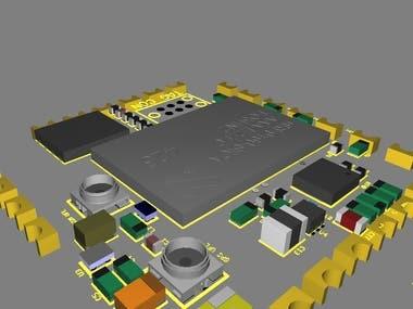 GSM/GPS, ACCELEROMETER + GYRO + MAGNETOMETER MODULE