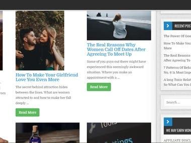 Wordpree Website