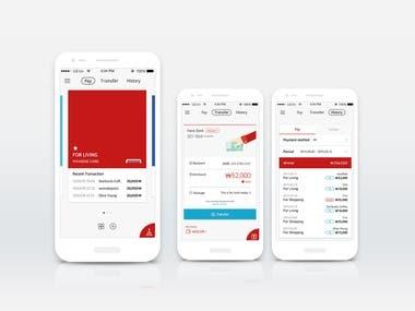 Bank/Payment Gateway Integration Mobile App