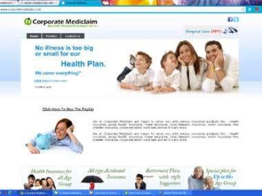 Website design & development for insurance company