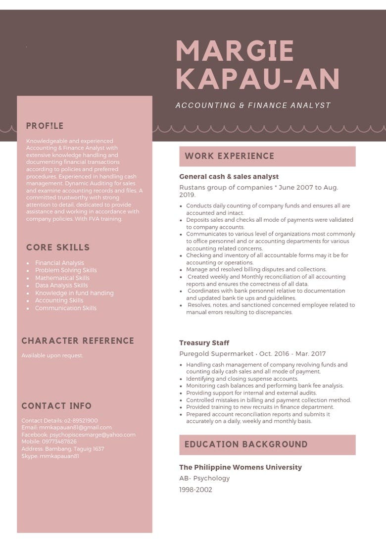 My Resume and Cover Letter | Freelancer