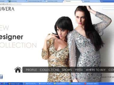 Website design & development for fashion company
