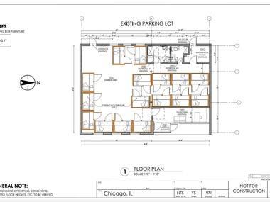 Motel Floor Plan