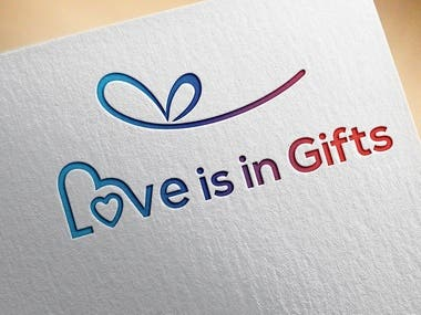 LOVE IS IN GIFT