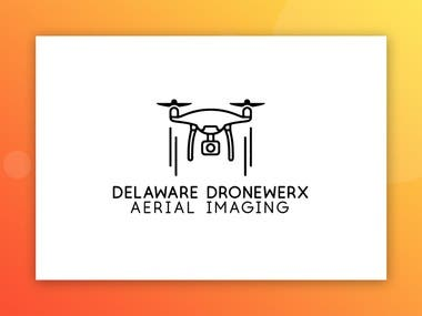 Logo for Delaware Dronewerx