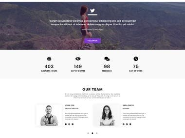 Creative Multi-Purpose PSD Template