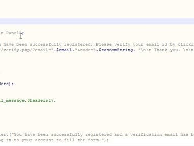 automatically mail send (phpmailer)