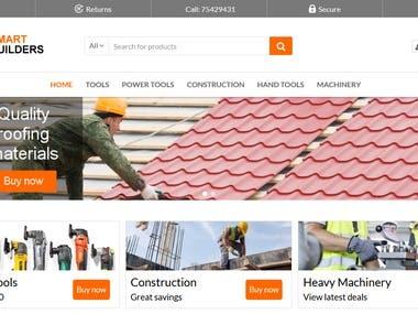 SmartBuilders website