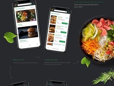 Nutree UI design
