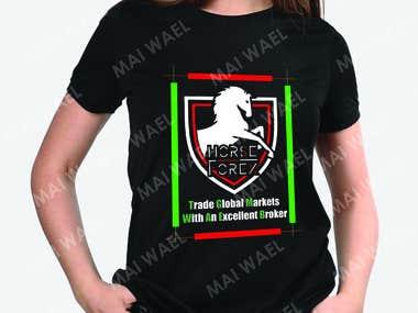 Horse Forex Shirt Design idea