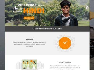Langistan (Language Learning Website)