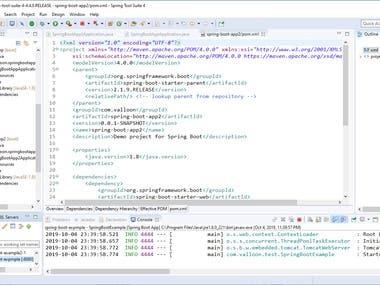 Java / JSP / Spring / Spring Boot