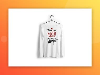 Female Shirt Design & Render