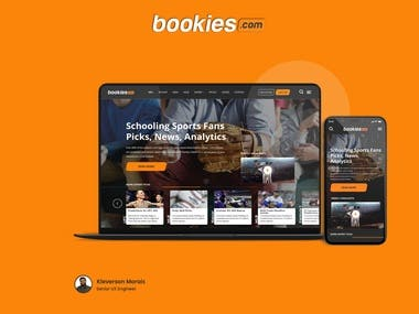 Bookies - Landing Page Redesign - Sports Betting