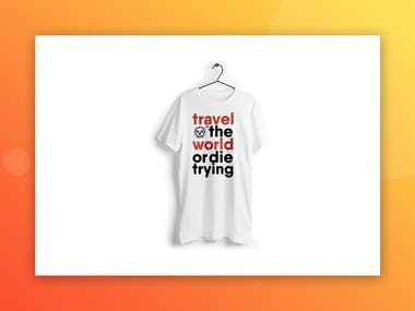 Travel the world or die trying