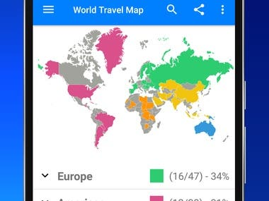 Travelmapper - Travel Tracker App