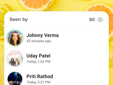 Chat app Audio video call group call