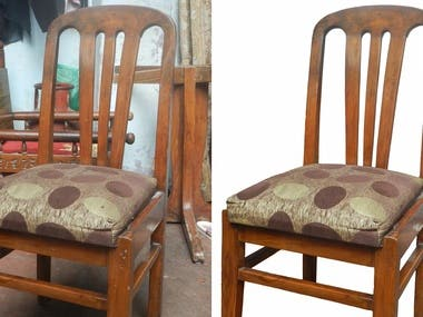 Chair - background removal & color correction