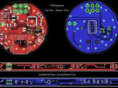 USB_MCU_Programer and FLEXIBLE Led Stripe