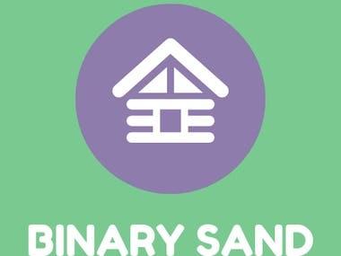 Binary Sand Logo