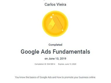 Google AdWords and Google Shopping Certifications