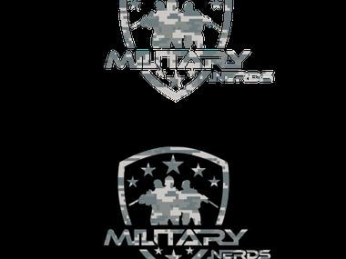 Military Nerds Logo Contest Winning Entry