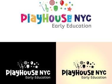kids Education logo Design