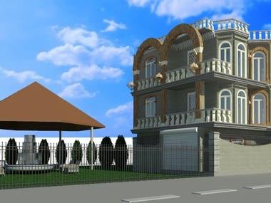 18 century villa design