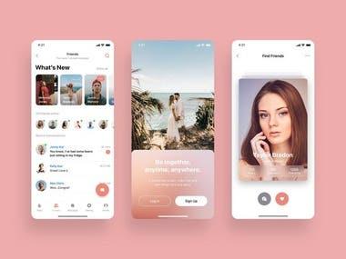 Ionic Chatting App