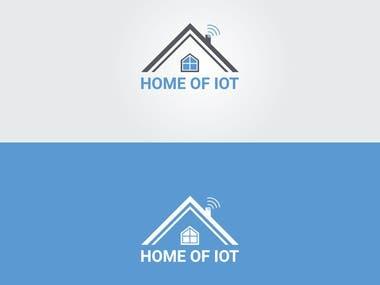 Internet of things logo design