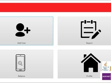 Mobile Shop TopUp (JavaFx, ASP.Net API)