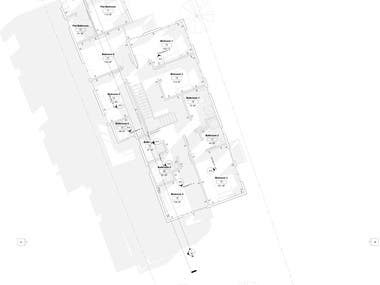 Architectural Design of a Two story Residential Home