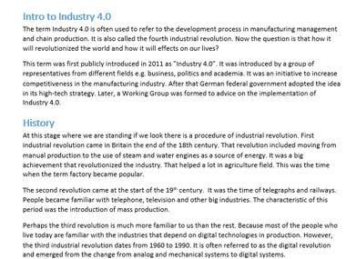 IOT Industry (Indsutry 4.0)