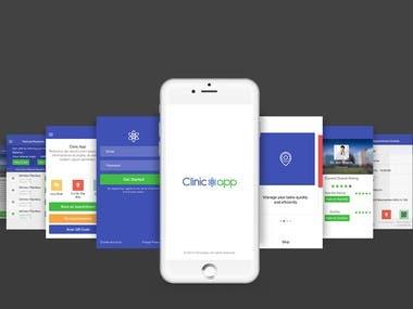 Clinic Service App