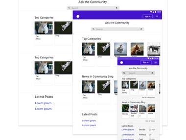 Responsive App Design(Mobile, Tablet & Desktop)