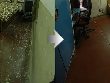 Extensive Spot Removal (panorama)