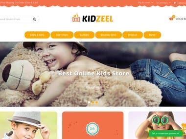 ecommerce shop baby