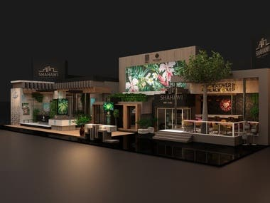 Shahawi Properties Booth Design
