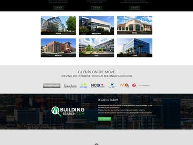 Building Search Website