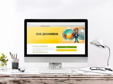 Website wordpress with reservation escape room