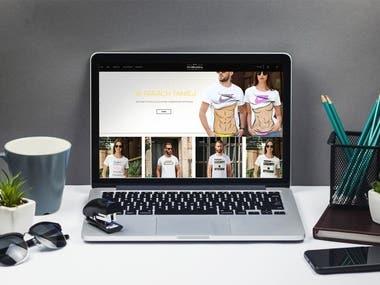 Website for clothing shop online