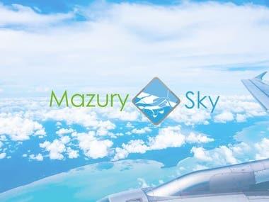 Logo for airplane seller
