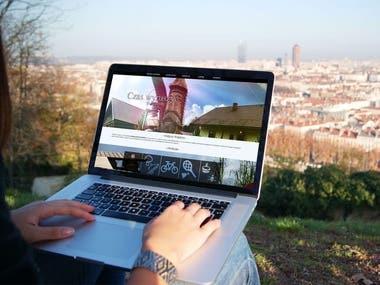 Website for house rental